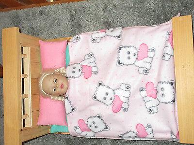 Cute Puppies Fleece Blanket for 18