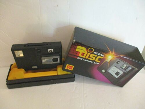 KODAK Disc 3000 CAMERA Outfit Used Vintage Comes with Original Box