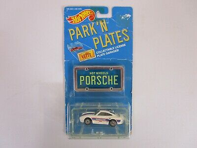 1988 HOT WHEELS PARK'N PLATES PORSCHE