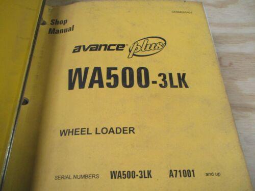 Komatsu WA500-3LK Wheel Loader Shop Service Manual