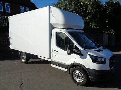2018 - 18 - Ford Transit 350 Luton Box van LWB with Tailift, Only 28,000 Miles