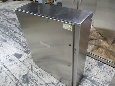 Hoffman Concept Prototype Stainless Steel Enclosure Cdsc483812ssr New Surplus
