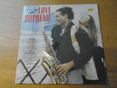 LOVE SUPREME Rhino 1991 SEALED VINYL LP SOUL JAZZ VARIOUS ACID JAZZ COMP