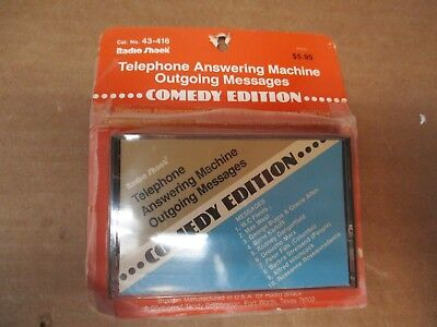 RADIO SHACK TELEPHONE ANSWERING MACHINE MESSAGES COMEDY EDITION FAST SHIPPING