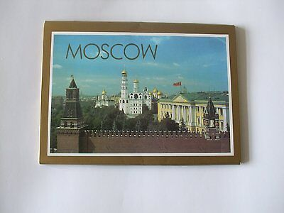 90s Moscow Postcards Set of 12