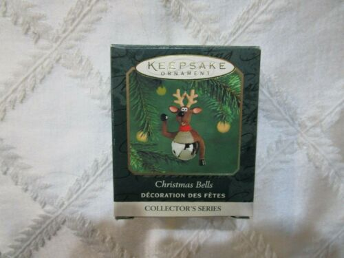 2000 CHRISTMAS MINIATURE ORNAMENT CHRISTMAS BELLS #6 IN SERIES T3111