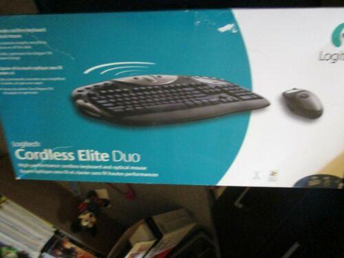 Logitech Cordless Elite Duo Keyboard & Mouse 967231-0403
