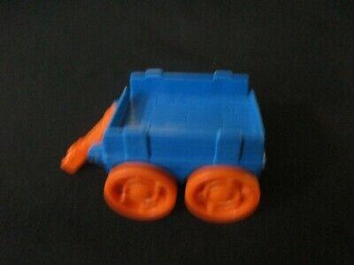 Fisher Price Little People part blue cart wagon orange wheels Halloween farm toy](Kids Wagon Halloween)