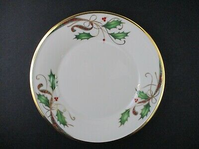 LENOX HOLIDAY NOUVEAU GOLD ACCENT PLATE - 8 1/8