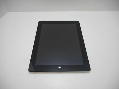 Apple iPad 4th Gen 16GB Wi-Fi 9.7in Black MD510LL/A A1458 Good Condition