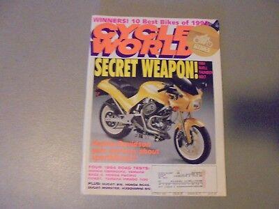 OCTOBER 1993 CYCLE WORLD MAGAZINE,10 BEST BIKES,BUELL BOLT,4 TESTS,HONDA,YAMAHA for sale  Shipping to India
