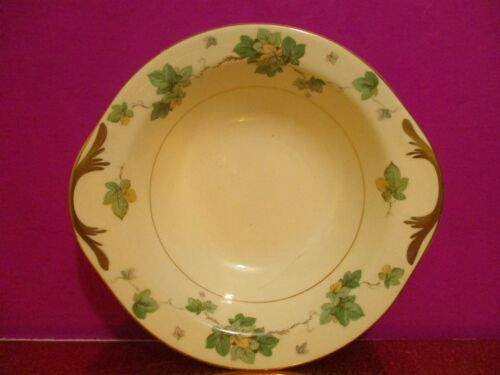 Pope Gosser China  American Ivy Tab Handled Soup / Cereal bowl