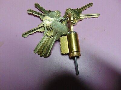 1  Everest Schlage C123 Knobdeadlock Lock With 10 Keys  Locksmith