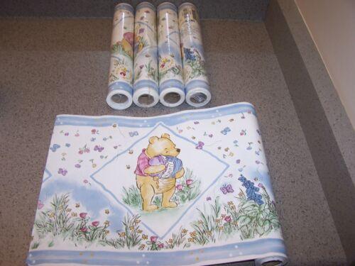 Vintage New Winnie the Pooh Wallpaper Border 25 Yards- SUNWORTHY