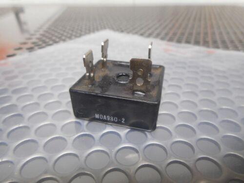 Motorola MDA980-2 Bridge Rectifier Used With Warranty