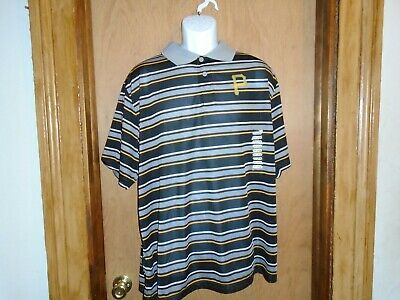 Pittsburgh Pirates Genuine Merchandise Men's Polo Golf Shirt XL 2XL or 3XL NWT - Pirate Merchandise
