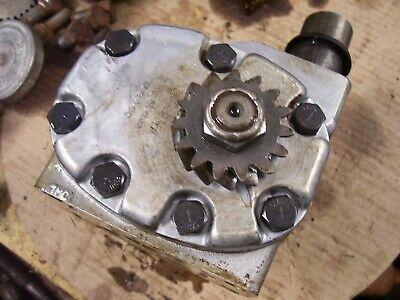 Original Ih Farmall 460 Diesel Row Crop Tractor - Hydraulic Pump Gear