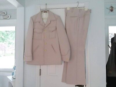 Vintage Men's Polyester Leisure Suit Western Disco Bell bottom - Bell Bottom Suit