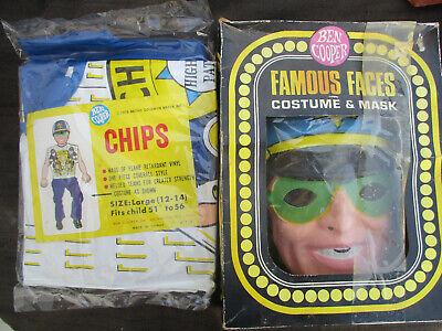 VINTAGE 1978 CHiPs BEN COOPER KID'S HALLOWEEN COSTUME TV MOTORCYCLE POLICE MINT](Chips Halloween Costume)