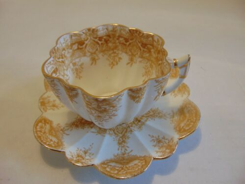 Antique Tea Cup and Saucer, Wileman and Co (Pre-Shelley), England