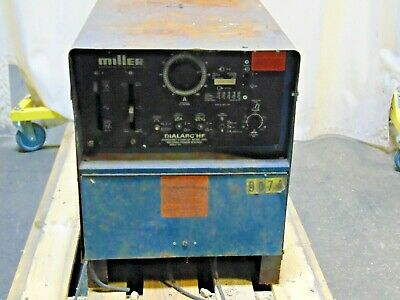 Miller Electric Dialarc Hf Ac Dc Constant Current Welding Power Source