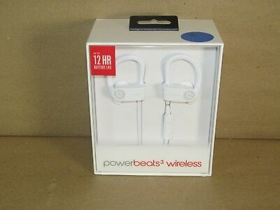 Beats Genuine Powerbeats3 Wireless Earphones A1747 White