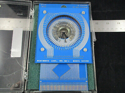 Wentworth Labs Probe Card Model Sc2200 Mb2200 Gold