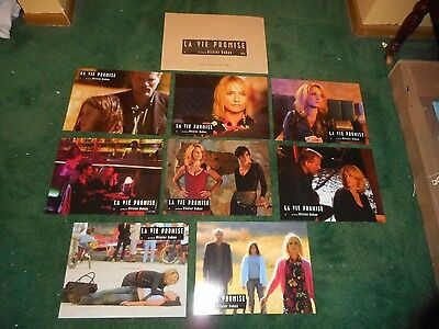 LA VIE PROMISE - ORIGINAL SET OF 8 FRENCH LOBBY CARDS - ISABELLE HUPPERT