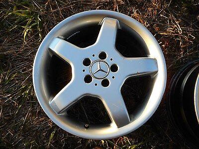 18 X 8 Mercedes SL500 SL600 OEM Factory Wheel Rim 65199 Front 98 99 S Class #2
