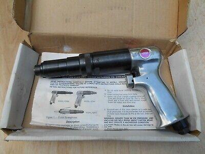 Dayton 6z664 1800rpm Adjustable Clutch Pistol Grip Air Screwdriver Nos.