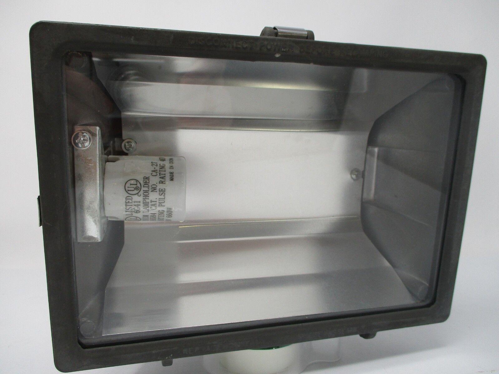 Lithonia Outdoor High-Pressure Sodium Flood Light Bronze OFL 70S 120 P LP BZ