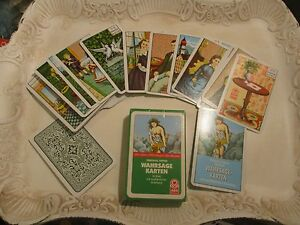 Original Kipper Wahrsage Karten Orakelkarten Tarrotkarten Kipperkarten