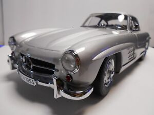 Premium ClassiXXs 1:12 Mercedes-Benz 300 SL gullwing #433/500 Silver