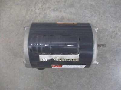 Dayton Capacitor Start Motor 5k683e 12 Hp 115230 Volts 110220 Hz