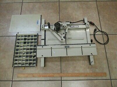 Scott Sm-500 Engraver Used As Pictured