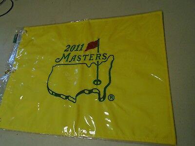 2011 Masters Augusta National Georgia Golf Pin Fahne Bestickt Neu Pga