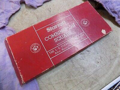 Starrett No.11 Combination Square 12