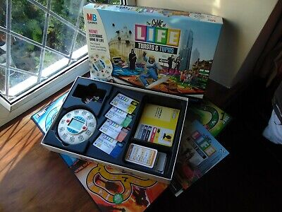 Family Game THE GAME OF LIFE Twists & Turns MB Electronic Version and Complete for sale  Shipping to Nigeria