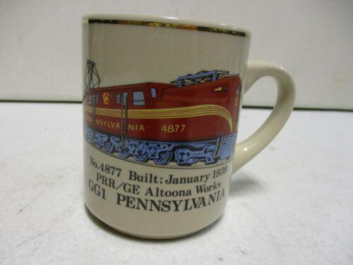 GG1 Pennsylvania 4877 Train Ceramic Coffee Mug