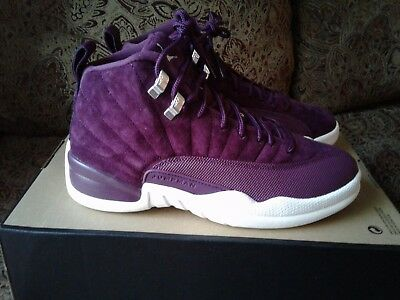Nike Air Jordan 12 Retro Bordeaux Sail 130690-617 Size 9