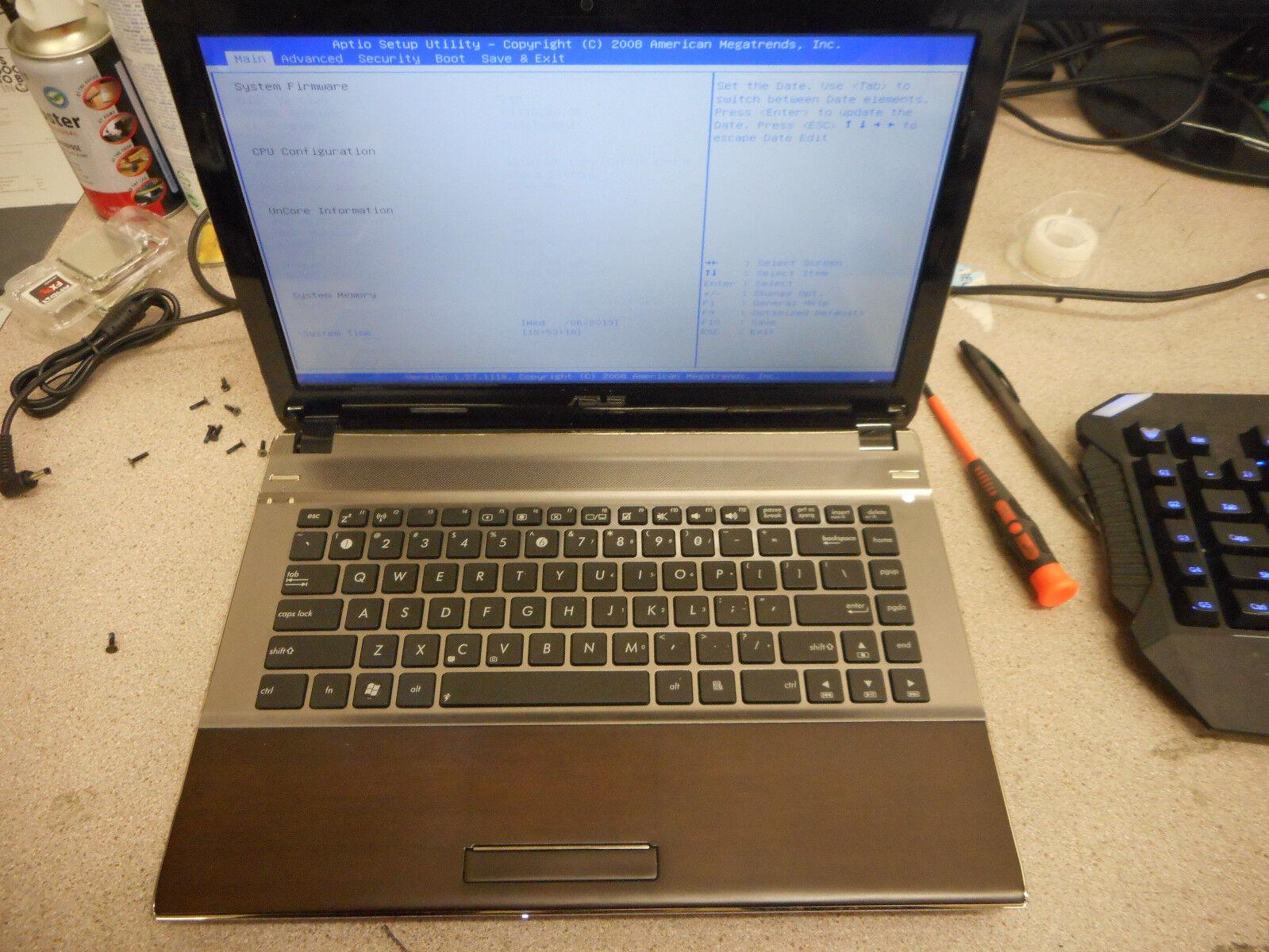ASUS U43J Intel i5 - 2GB - No HD - Parts 2