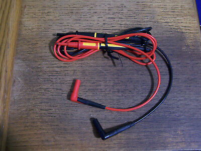 New Genuine Fluke Tl175 Twistguard Unique Multimeter Clampmeter Test Lead Set