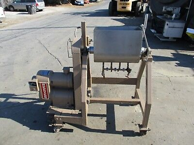 Stainless Steel Mixer With Unloading For Meat Dough Etc..