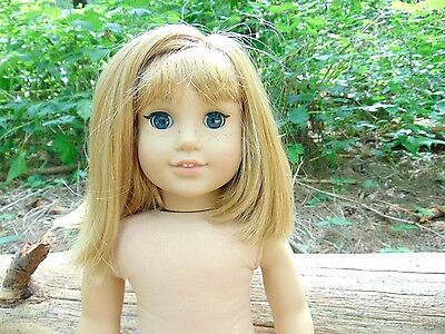 """RETIRED Nellie O'Malley 18"""" American Girl Doll NO CLOTHING"""