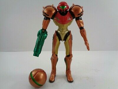 "World Of Nintendo Metallic Samus 4"" Action Figure Jakks Pacific Exclusive 2015"