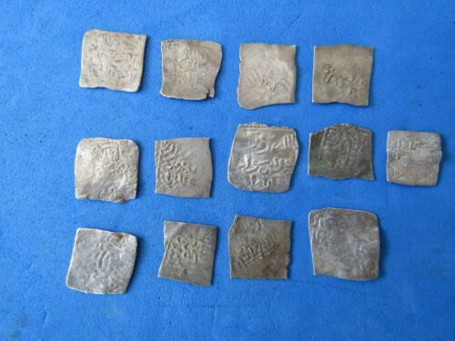 RARE Lot 13 silver ALHOMAD Islamic/Spain. Al-Andalus mint XII - XIII cent. A.D.