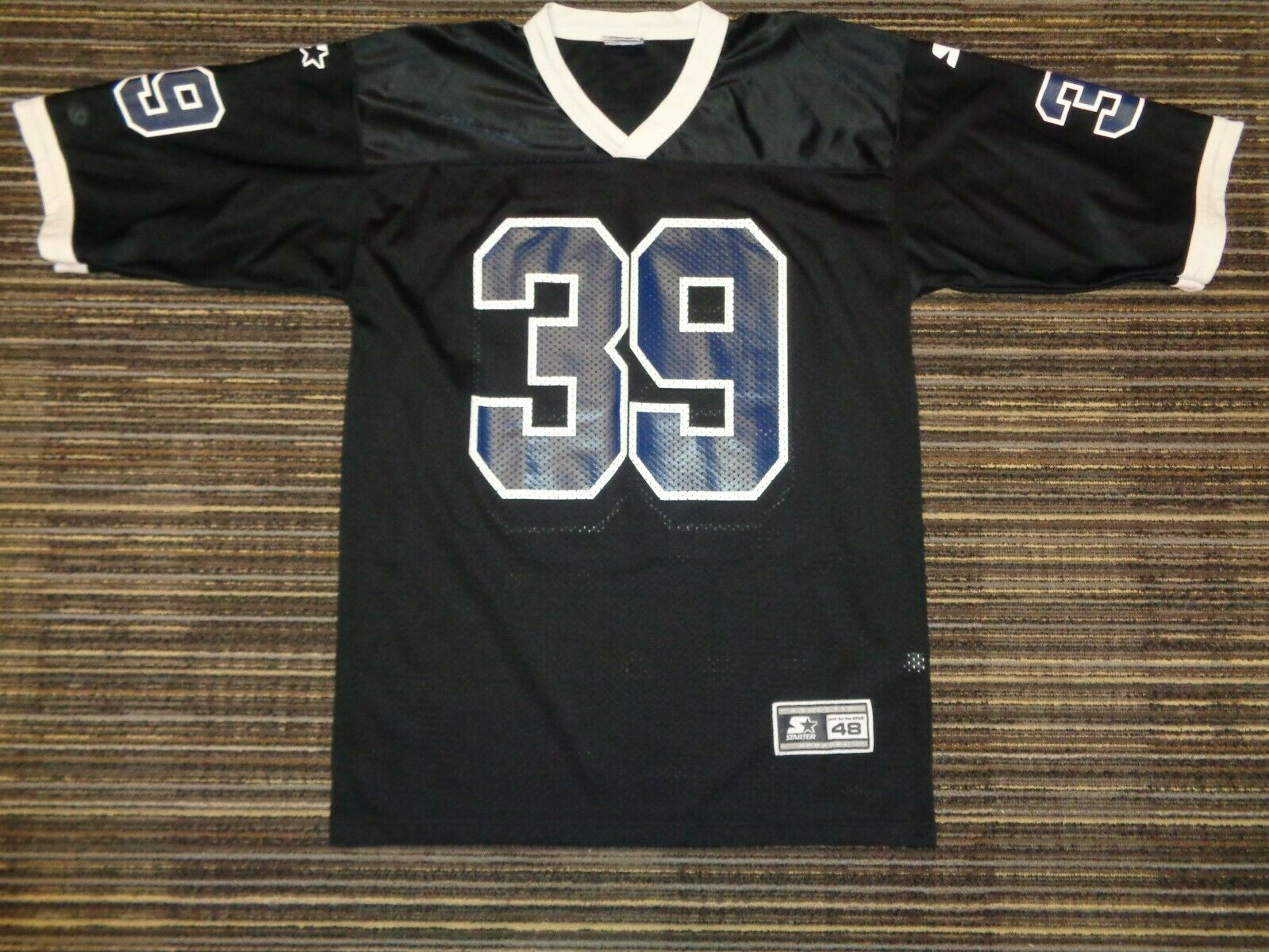 CURTIS ENIS 39 PENN STATE NITTANY LIONS STARTER BLACK NCAA COLLEGE GAME JERSEY - $39.99