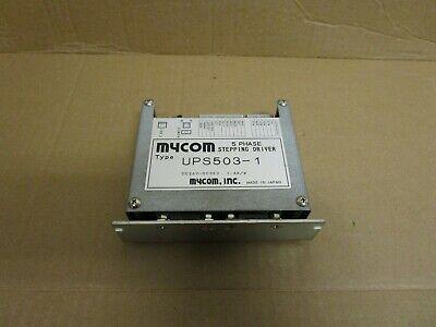 Mycom 5 Phase Stepping Driver Ups503-1 Dc24v-dc36v 1.4a Amp