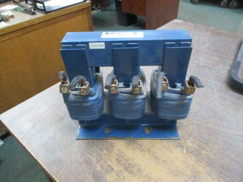 Allen-Bradley 3 Phase Line Reactor 1321-3R80-B 0.4mH 600V 50/60Hz Used