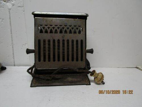 VINTAGE GE GENERAL ELECTRIC HOTPOINT CHROME ART DECO TOASTER